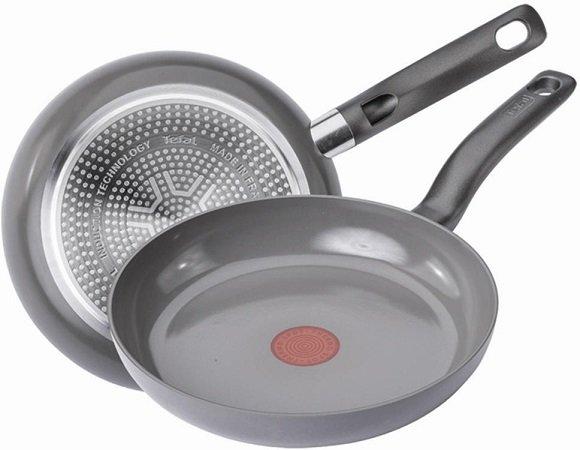 Küchenzubehör von Tefal, WMF & Co. - z.B. Tefal C93306 Ceramic Pfanne für 24,24€