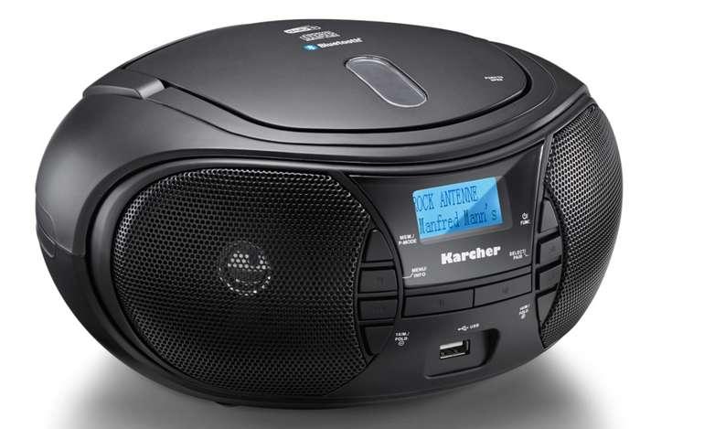 Karcher RR 5028D CD-Radio DAB+ in schwarz für 59,99€inkl. Versand (statt 85€)