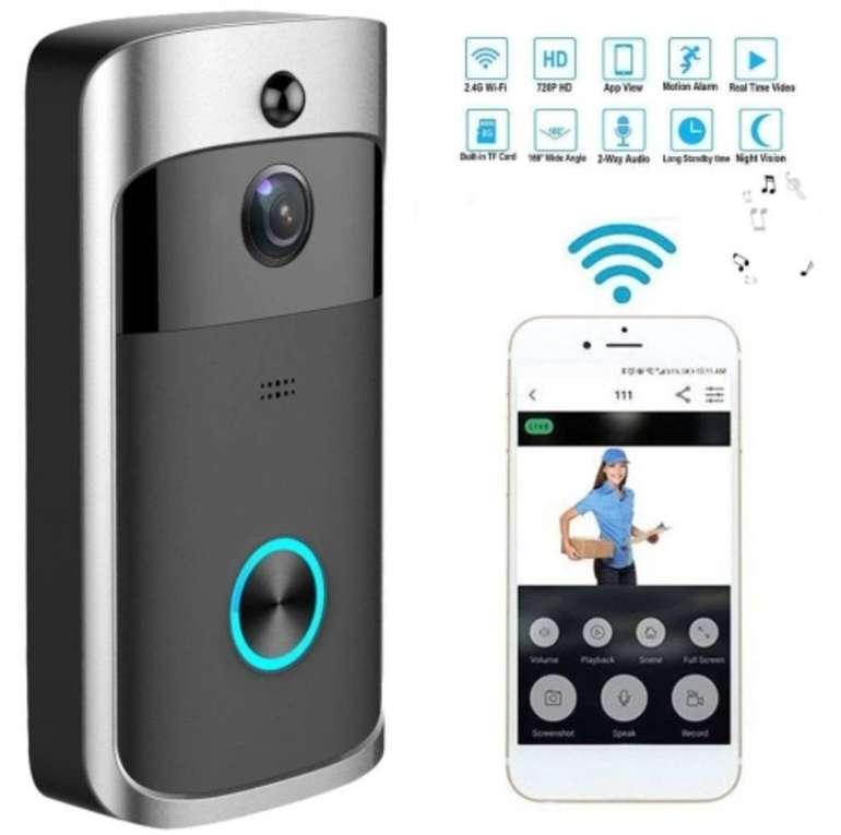 Smarte Video Türklingel mit WLAN, Appsteuerung für 32,14€ inkl. Versand