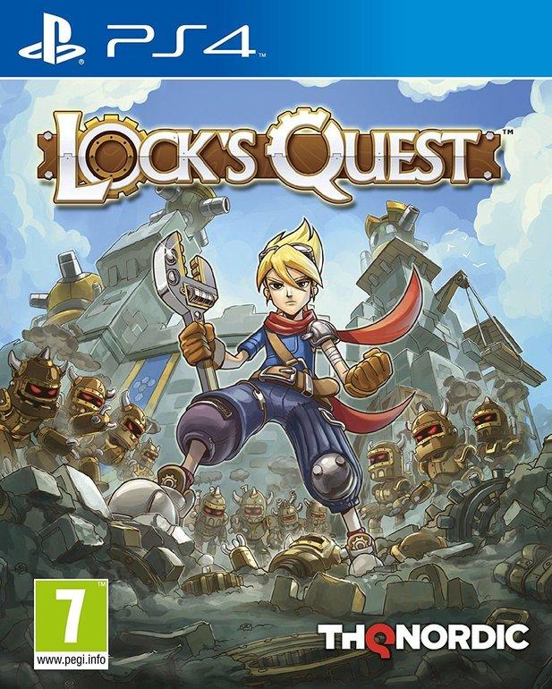 Lock's Quest (PS4) für 13,50€ inkl. Versand (Vergleich: 20€)