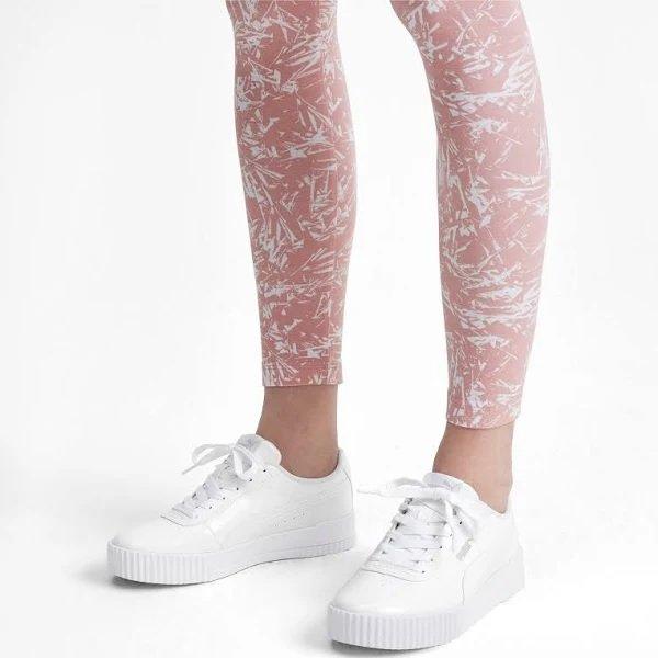 """Puma """"Carina P"""" Damen Sneaker in Weiß und Schwarz für 35,95€ inkl. Versand (statt 53€)"""