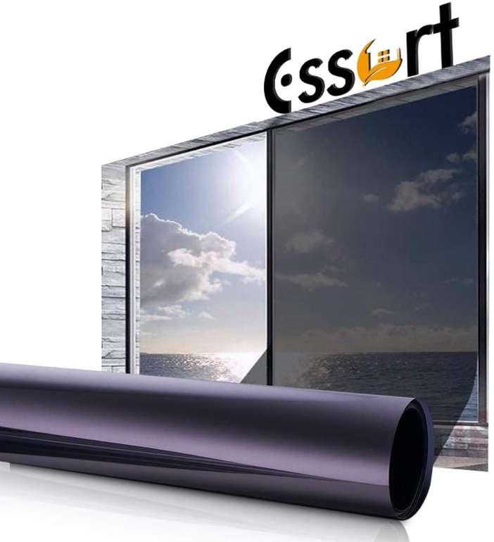 Essort Fenster Sonnenschutz- bzw. Spiegelfolie (90 x 200 cm) für 16,99€ inkl. Prime Versand (statt 29€)