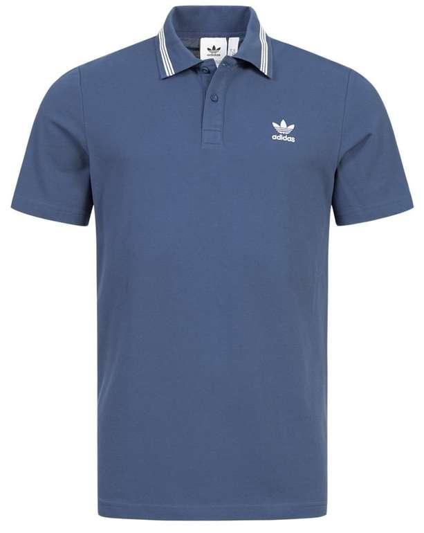 Adidas Originals Trefoil Essentials Herren Polo-Shirt in Blau für 23,94€ inkl. Versand (statt 29€)
