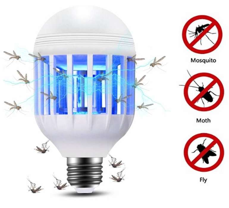 Lixada E27 LED Moskito Lampe für 4,99€ inkl. Prime Versand (statt 10€)