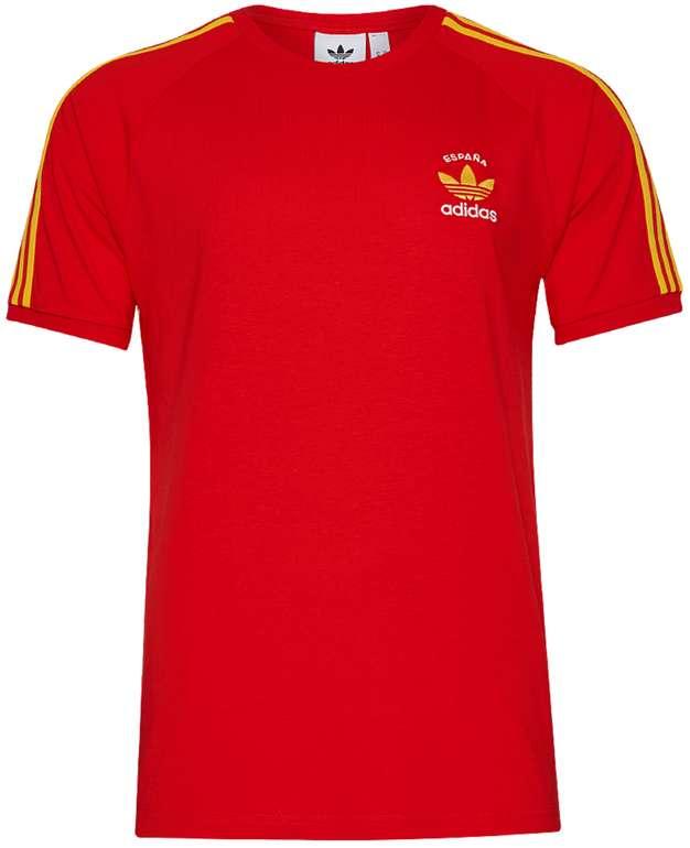 adidas Originals Espana 3-Stripes Herren T-Shirt in Rot für 20,94€ inkl. Versand (statt 33€)