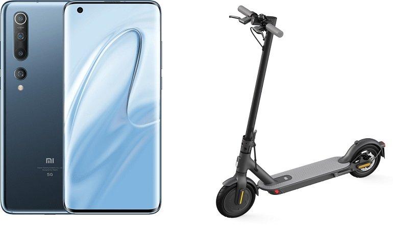 Xiaomi Mi 10 5G 128GB Mi Scooter 1S 3