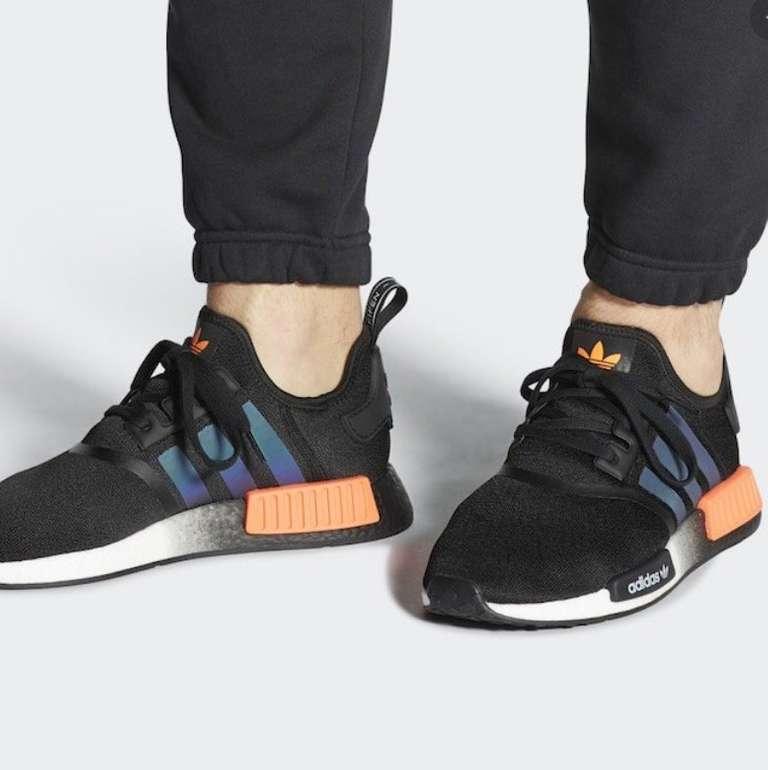 """Adidas NMD_R1 Herren Sneaker im """"Core black/solar orange/cloud white""""-Colourway für 79,99€ (statt 105€)"""