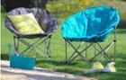 2x Campingsessel Lyon (faltbar) in Anthrazit oder Blau für 23,95€ (statt 50€)