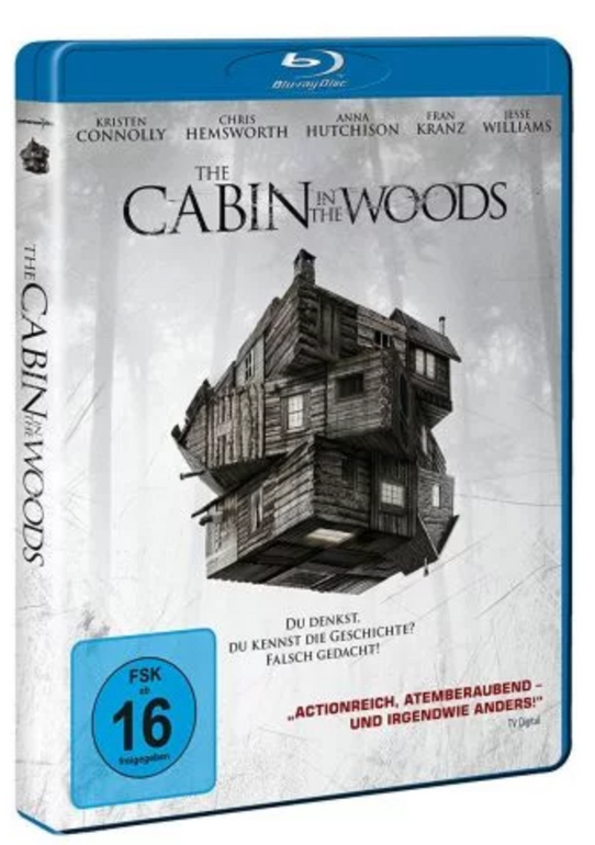Film: The Cabin in the Woods (Blu-ray) für 3,85€ inkl. Versand (statt 8,49€)