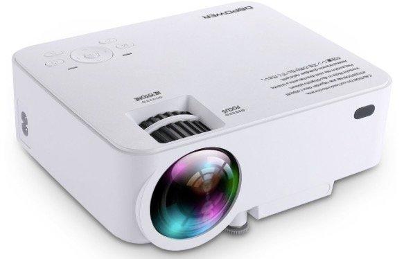DBPower T20 - 1500 Lumen LCD Minibeamer für 55,99€ inkl. Versand (statt 70€)