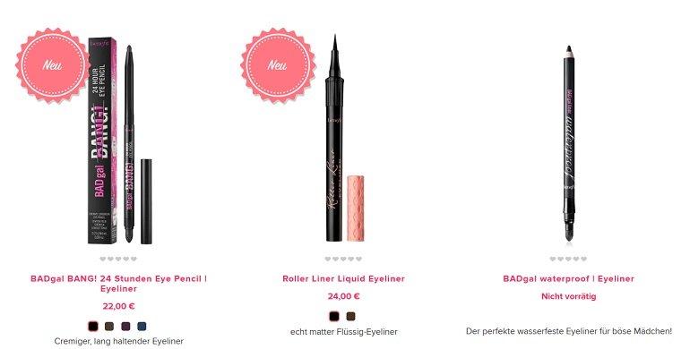 Benefit Cosmetics Rabatt 3