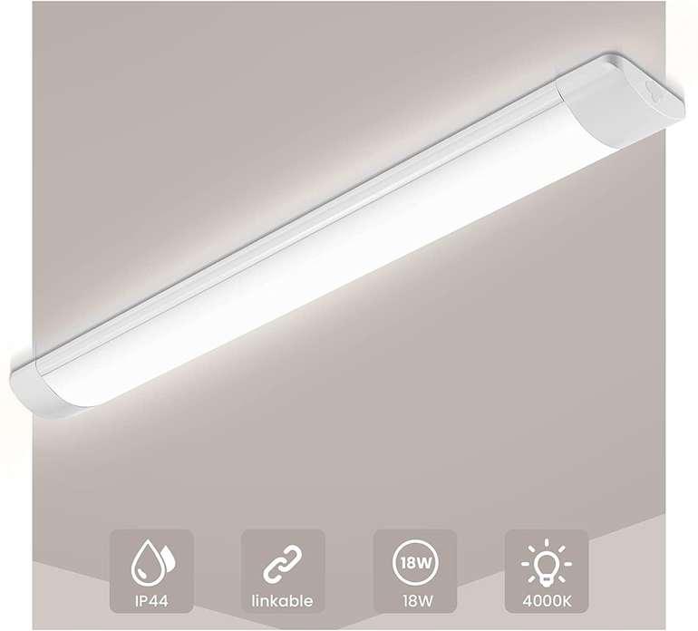 Solmore LED Feuchtraumleuchte (60cm, 18W, 4000K) für 16,79€ inkl. Prime Versand (statt 24€)