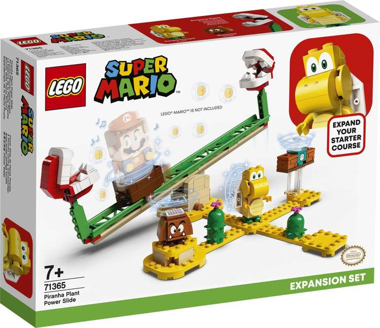 Lego Super Mario - Piranha-Pflanze-Powerwippe (71365) für 14,14€ inkl. Prime Versand (statt 21€)