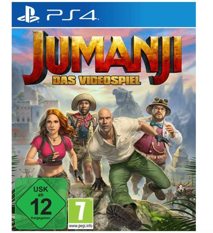 Jumanji: Das Videospiel (PlayStation 4) für 20€ inkl. Versand (statt 29€)