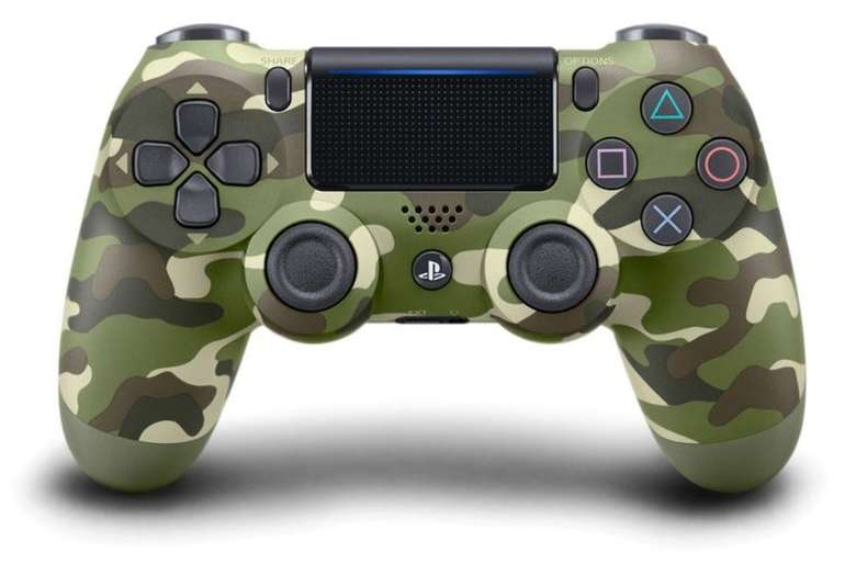 Sony Dualshock 4 Wireless-Controller V2 in Green Camouflage für 42,94€ (statt 55€)
