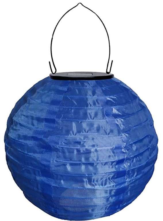 2er Pack Solar LED Lampion Party Garten Laterne (30cm) für 5,99€ inkl. Prime Versand (statt 20€)
