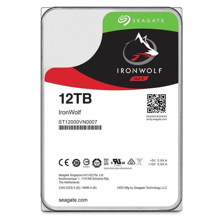 Seagate IronWolf NAS HDD mit 12TB Speicher für 377€ inkl. Versand