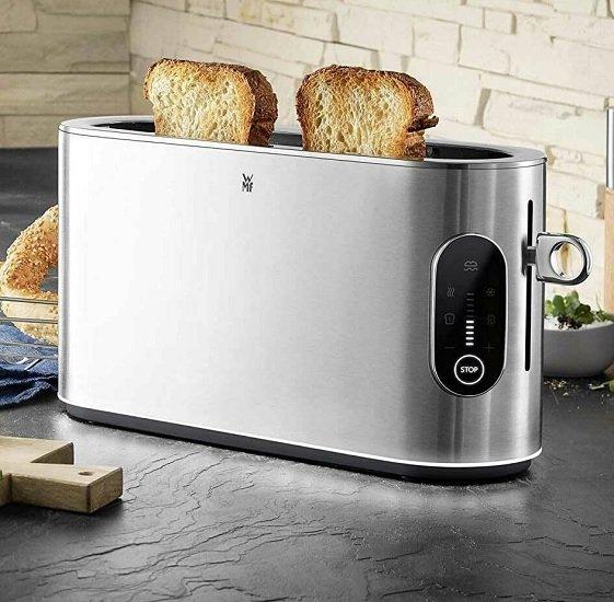 WMF Cromargan Lumero Langschlitz-Toaster mit Brötchenaufsatz für 80,99€ (statt 100€)