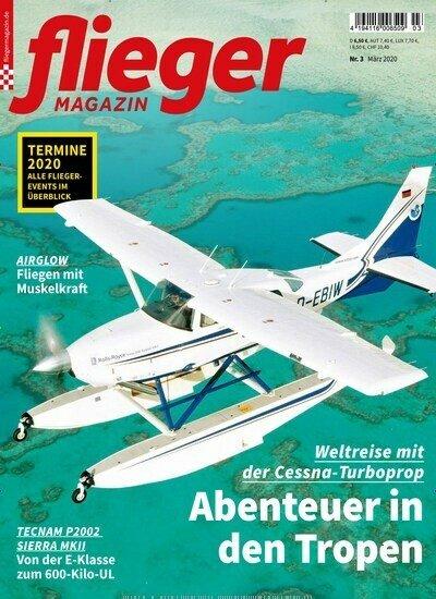 """12 Ausgaben """"Fliegermagazin"""" für 81,60€ + 75€ Gutschein für Amazon oder 70€ Scheck!"""