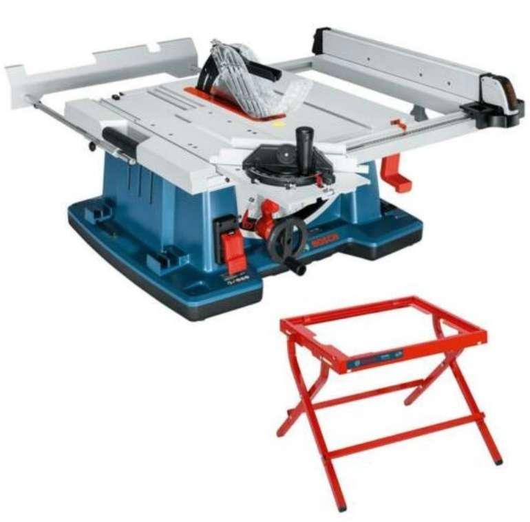 Bosch Tischkreissäge GTS 10 XC mit Maschinenständer GTA 6000 für 699,95€ inkl. Versand (statt 764€)