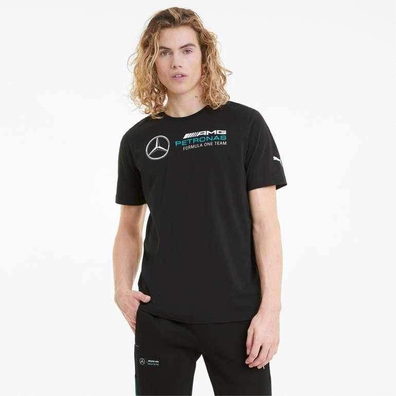 Puma - Mercedes F1 Logo Herren T-Shirt (viele Größen) für 15,96€ inkl. Versand (statt 20€)