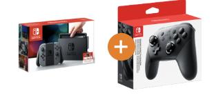 Nintendo Switch Konsole inkl. Pro-Controller versch. Farben je 319€ (statt 355€)