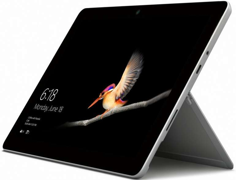 Microsoft Surface Go WiFi Tablet (10″, 8 GB RAM, 128 GB) in Silber für 514,96€ inkl. Versand (statt 727€)
