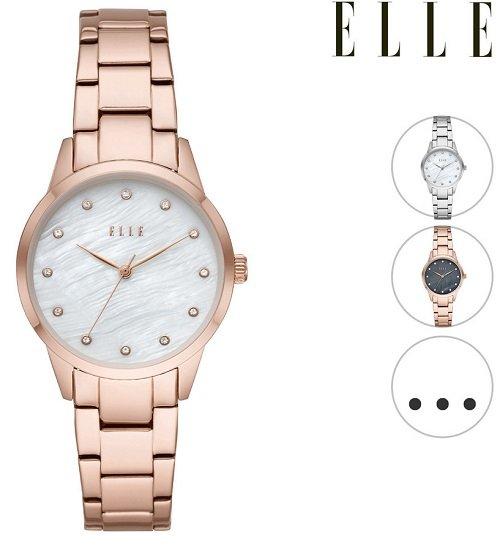 """Elle """"Monceau"""" Armbanduhr für Damen in 4 verschiedenen Farben zu je 18,90€inkl. Versand (statt 64€)"""