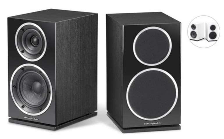 2x Wharfedale Diamond 220 Lautsprecher (130-mm-Tieftöner + 25-mm-Hochtöner) für 138,90€ (statt 188€)