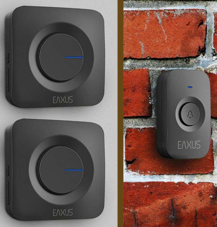 Eaxus LED Funkklingel Set mit 2 Empfängern für 19,99€inkl. Versand (statt 26€)