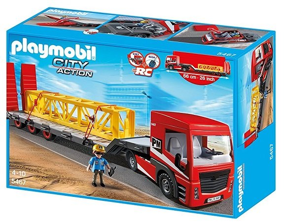 Playmobil Citylife - Schwertransporter (5467) für 30,35€ inkl. VSK (statt 48€)