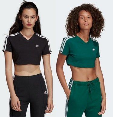 adidas Originals Cropped T-Shirt in drei Designs für je 15,72€ zzgl. VSK