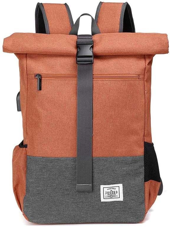 Joseko wasserdichter Laptop Rucksack in 7 Farben für je 23,39€ inkl. Versand (statt 39€)