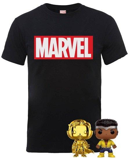 MARVEL T-Shirt + 2 Funko Pops Figuren für 18,48€ (statt 42€)