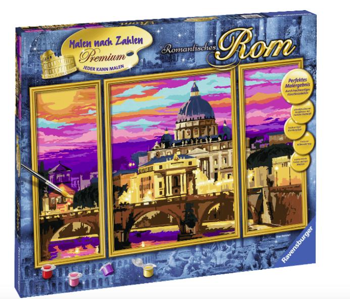 """RAVENSBURGER """"Romantisches Rom"""" Malset für 25€ inkl. Versand"""
