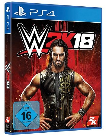 WWE 2K18 - Standard Edition - PlayStation 4 für 8,99€ inkl. VSK (statt 20,44€)