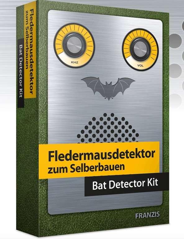 Franzis Fledermausdetektor zum Selberbauen (Ultraschallwellen der Tiere hörbar machen) für 17,95€ (statt 22€)