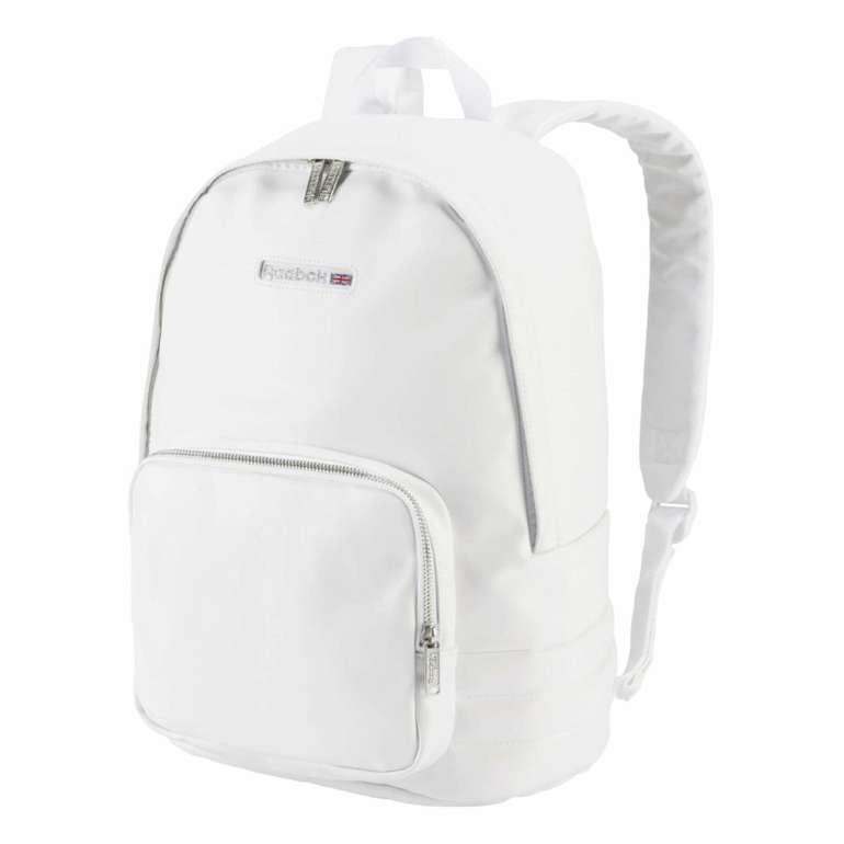 Reebok Classics Freestyle Rucksack in Weiß für 26,38€ inkl. Versand (statt 55€)