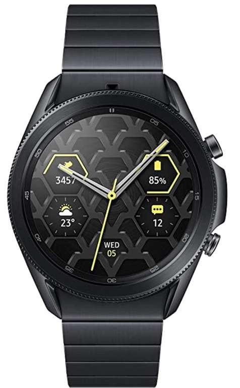 Samsung Galaxy Watch3 (45mm, Titanium Mystic Black) für 349,99€ inkl. Versand (statt 399€)