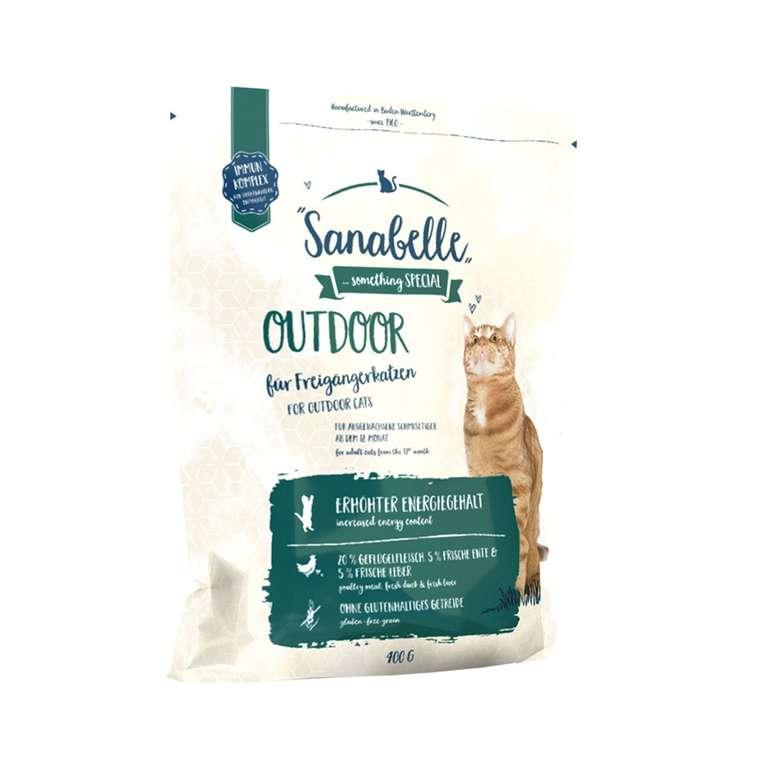 Sanabelle Katzen Trockenfutter Outdoor (10kg) für 27,40€ inkl. VSK (statt 36€)