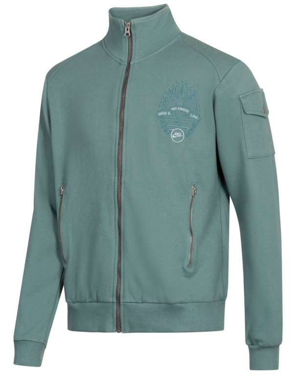 Nike Full Zip Herren Sweatjacke in Grün für 33,94€ inkl. Versand (statt 45€)