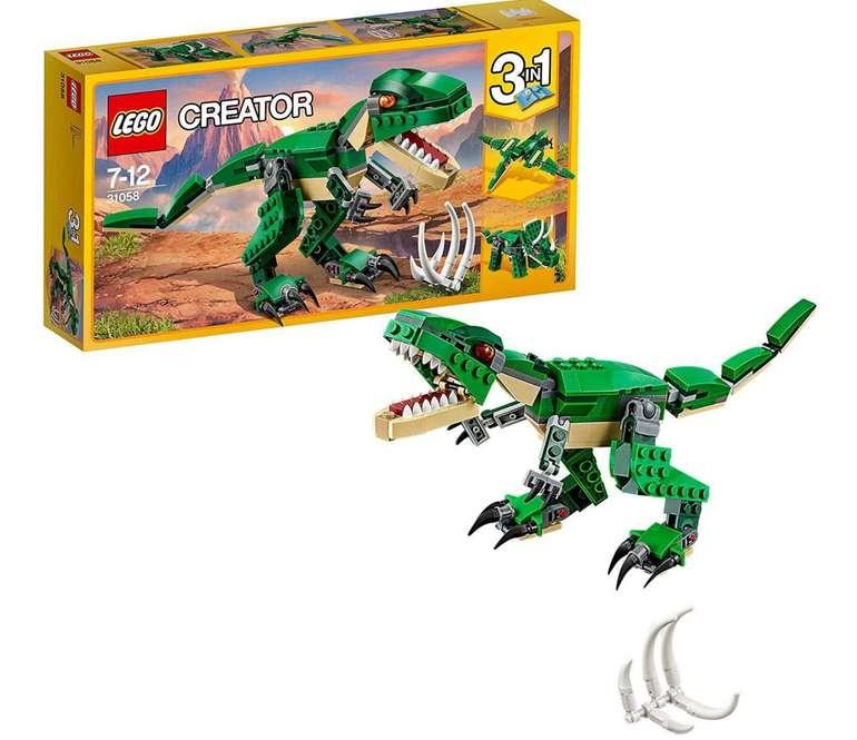 Lego Creator (31058) Spielzeug Dinosaurier 3-in-1- für 10,67€ (statt 15€) - Prime Versand!
