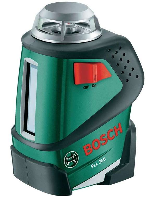 "Bosch Kreuzlinenlaser ""PLL 360"" für 99,99€ (statt 127€) - generalüberholt!"