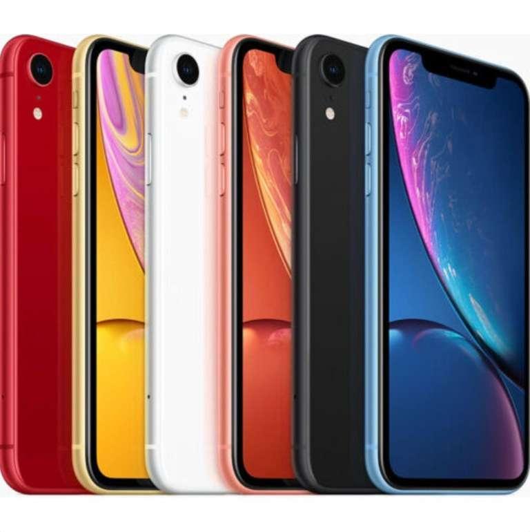 Apple iPhone XR mit 128GB in verschiedenen Farben für je 469,90€ inkl. Versand (B-Ware - wie neu!)