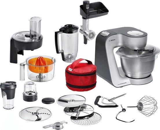Bosch HomeProfessional MUM59S81DE Küchenmaschine + Hornhautentferner für 373,99€
