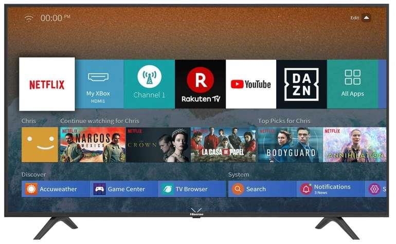Hisense H65BE7000 - 65 Zoll 4K Ultra HD Fernseher (Triple Tuner, Smart-TV) für 489,99€ inkl. Versand