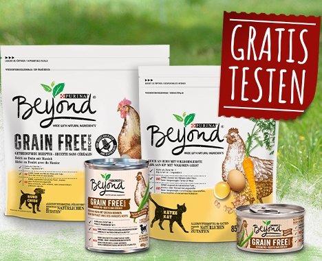 Purina Beyond Hunde - und Katzenfutter gratis testen (GzG)