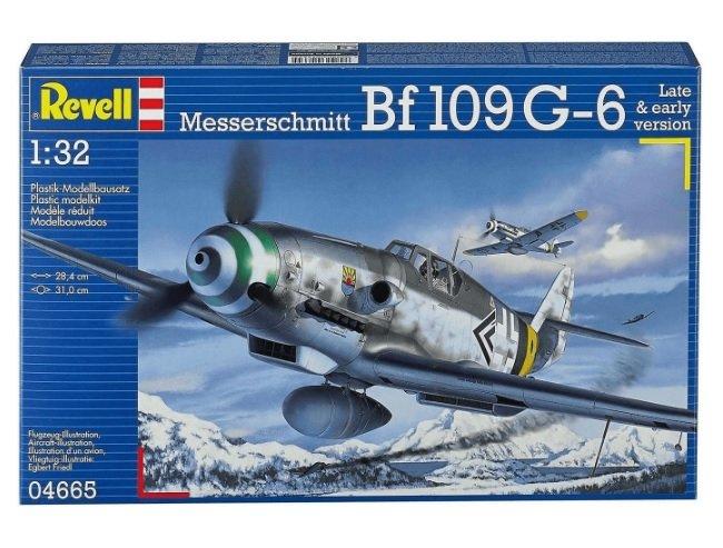 Revell Messerschmitt Bf109 G-6 (04665) für 14,73€ (statt 24€)
