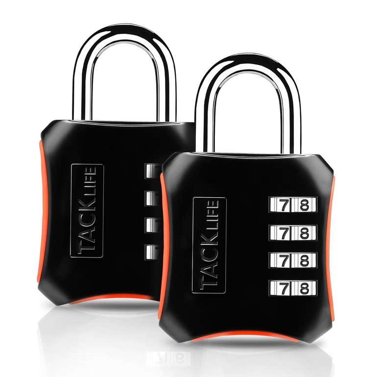 Tacklife HCL3B Zahlenschloß im Doppelpack für 4,99€ inkl. Prime Versand (statt 10€)