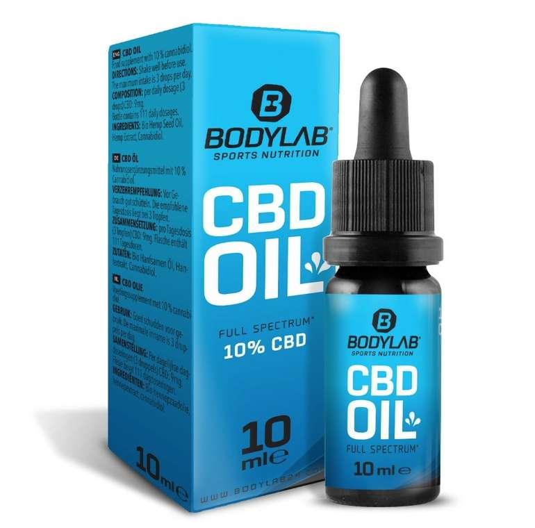 Bodylab24 CBD Oil 10% (10ml) für 24,98€ inkl. Versand (statt 33€)
